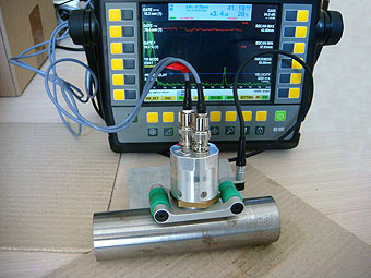 Ultrasonic equipment with EMAT probe