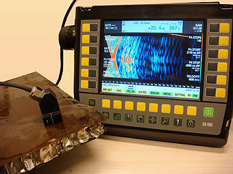 Phased Array testing of honeycomb